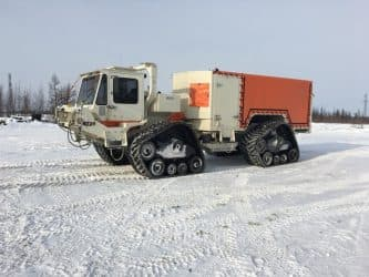 TNG Group forges ahead with INOVA's specially equipped Commander TRT vibroseis vehicles in the Russian Arctic
