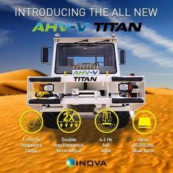 INOVA Introduces TITAN, the new force in Vibroseis technology